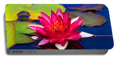 Blooming Lily Portable Battery Charger