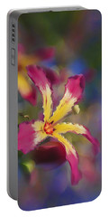 Bloomin Hong Kong Orchid Portable Battery Charger