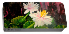 Blooming At Night  Portable Battery Charger