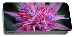 Blooming Bromeliad Portable Battery Charger
