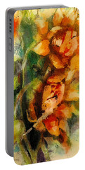Blooming Flowers - Batik Portable Battery Charger