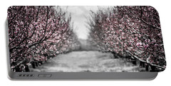 Blooming Peach Orchard Portable Battery Charger