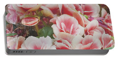 Blooming Roses Portable Battery Charger