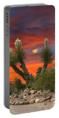 Full Blooming Yucca Portable Battery Charger