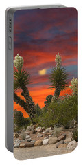 Full Blooming Yucca Portable Battery Charger by Jack Pumphrey