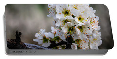 Blossom Gathering Portable Battery Charger