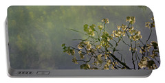 Portable Battery Charger featuring the photograph Blossom Reflection by Marilyn Wilson
