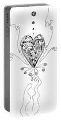 Blossoming Love Portable Battery Charger