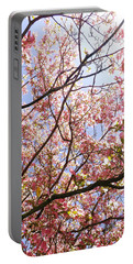 Blossoming Pink Portable Battery Charger