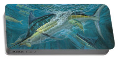 Blue And Mahi Mahi Underwater Portable Battery Charger