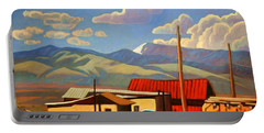 Blue Apache Portable Battery Charger by Art James West