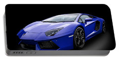 Blue Aventador Portable Battery Charger