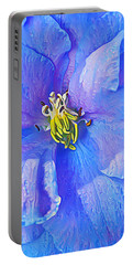 Blue Beauty Portable Battery Charger by ABeautifulSky Photography