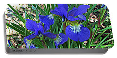 Blue Beauty Portable Battery Charger by Janice Westerberg