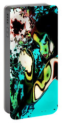 Portable Battery Charger featuring the photograph Blue Beauty by Jessica Shelton