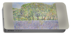 Blue Bonnets  Field In  Texas Portable Battery Charger
