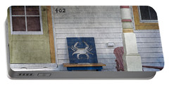 Blue Crab Chair Portable Battery Charger