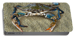 Blue Crab Confrontation Portable Battery Charger