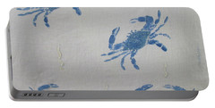 Blue Crabs On Sand Portable Battery Charger