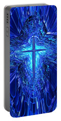 Blue Cross Portable Battery Charger
