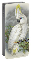 Blue-eyed Cockatoo Portable Battery Charger
