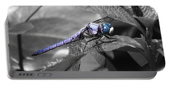 Blue Eyed Dragonfly Portable Battery Charger
