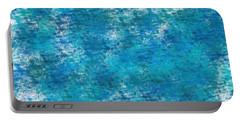 Portable Battery Charger featuring the digital art Blue Haze... by Tim Fillingim