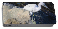 Blue Heron Squared Portable Battery Charger