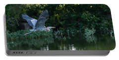 Blue Heron Take-off Portable Battery Charger