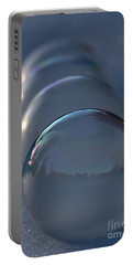 Blue Hour Frozen Bubbles Portable Battery Charger by Kenny Glotfelty