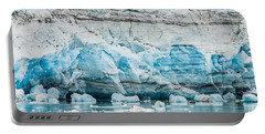 Blue Ice Portable Battery Charger by Melinda Ledsome
