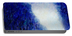 Blue Landscape - Abstract Portable Battery Charger