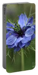 Portable Battery Charger featuring the photograph Blue Love by Joy Watson