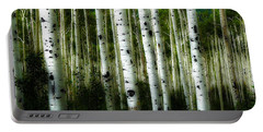 Blue Mood Aspens I Portable Battery Charger