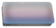 Blue Moon Eve Portable Battery Charger by Deborah Lacoste
