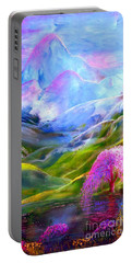 Blue Mountain Pool Portable Battery Charger by Jane Small