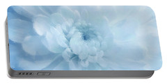 Blue Mum Luminous Painted Blossom Portable Battery Charger