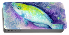 Blue Parrotfish Portable Battery Charger