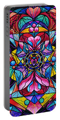 Homeopathic Paintings Portable Battery Chargers