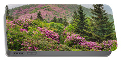 Blue Ridge Mountain Rhododendron - Roan Mountain Bloom Extravaganza Portable Battery Charger