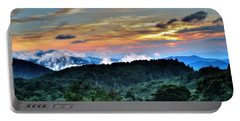 Blue Ridge Mountain Sunrise  Portable Battery Charger