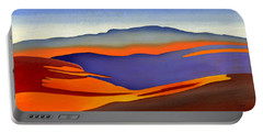 Blue Ridge Mountains East Fall Art Abstract Portable Battery Charger