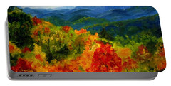 Blue Ridge Mountains In Fall Portable Battery Charger