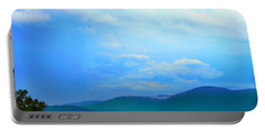 Portable Battery Charger featuring the photograph Blue Ridge Mountains by Judy Palkimas