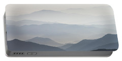 Blue Ridge Mountains View From Roan Mountain Balds Portable Battery Charger
