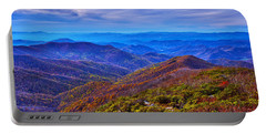 Portable Battery Charger featuring the photograph Blue Ridge Parkway by Alex Grichenko