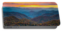Mountain Sunset Portable Batteries Chargers