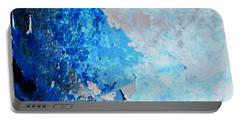 Blue Rust Portable Battery Charger by Randi Grace Nilsberg