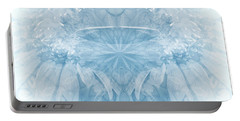 Portable Battery Charger featuring the photograph Blue Serinity by Geraldine DeBoer
