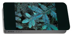 Portable Battery Charger featuring the photograph Blue Spruce by Daniel Thompson